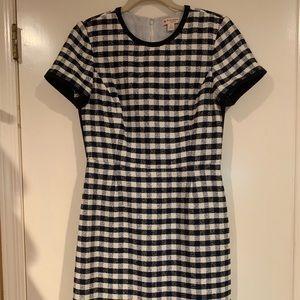 Brooks Brothers Sheath Tweed Dress, 6